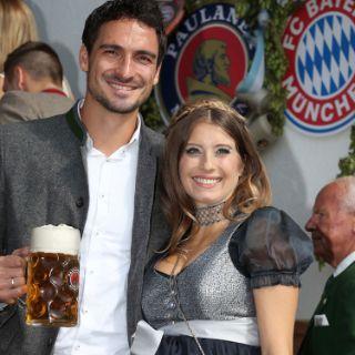 So feiern die FCB-Stars auf der Wiesn