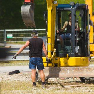 Wiesnaufbau 2018: erste Woche