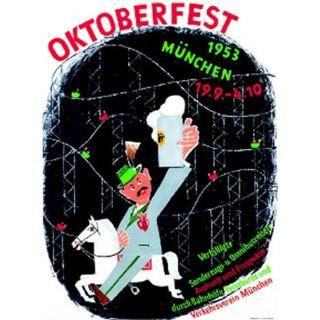 Oktoberfestplakat 1953