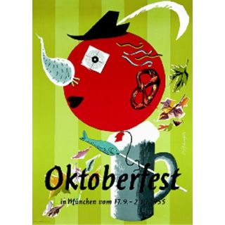Oktoberfestplakat 1955