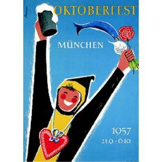 Oktoberfestplakat 1957