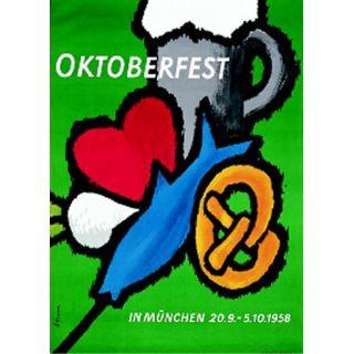 Oktoberfestplakat 1958
