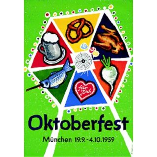 Oktoberfestplakat 1959
