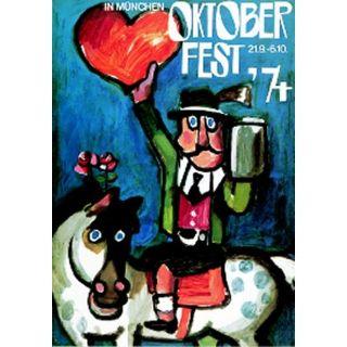 Oktoberfestplakat 1974