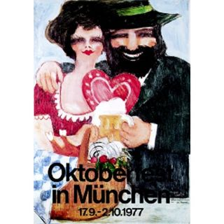 Oktoberfestplakat 1977