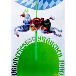 Oktoberfestplakat 1990