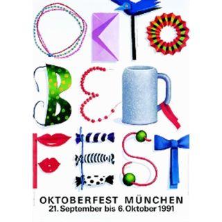 Oktoberfestplakat 1991