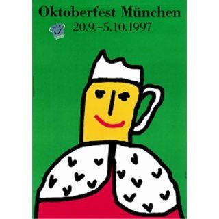Oktoberfestplakat 1997