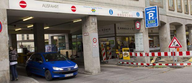 Parkhaus Marienplatz-Großgarage