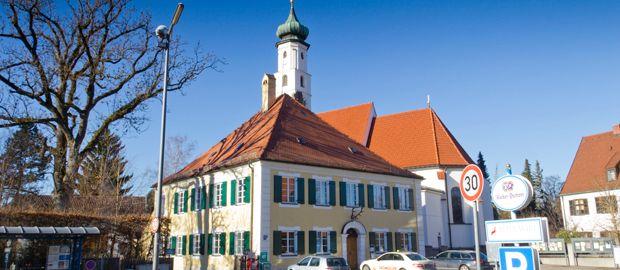 Heilig-Kreuz-Kirche in Forstenried