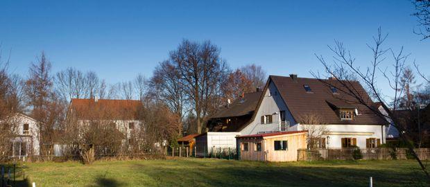 Wohngegend in München Solln
