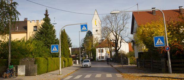 St. Peter und Paul Kirche in München Trudering