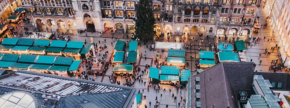 Christkindlmarkt-Schmankerl rund um den Marienplatz