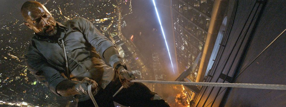 """Filmsene aus """"Skyscraper"""""""