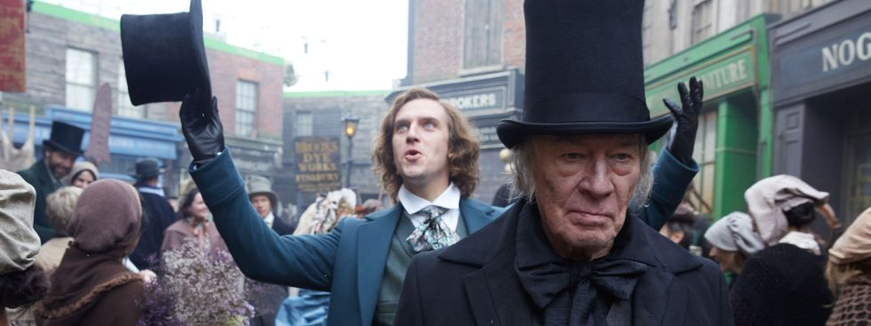 """Szene aus dem Film """"Charles Dickens: Der Mann, der Weihnachten erfand"""""""