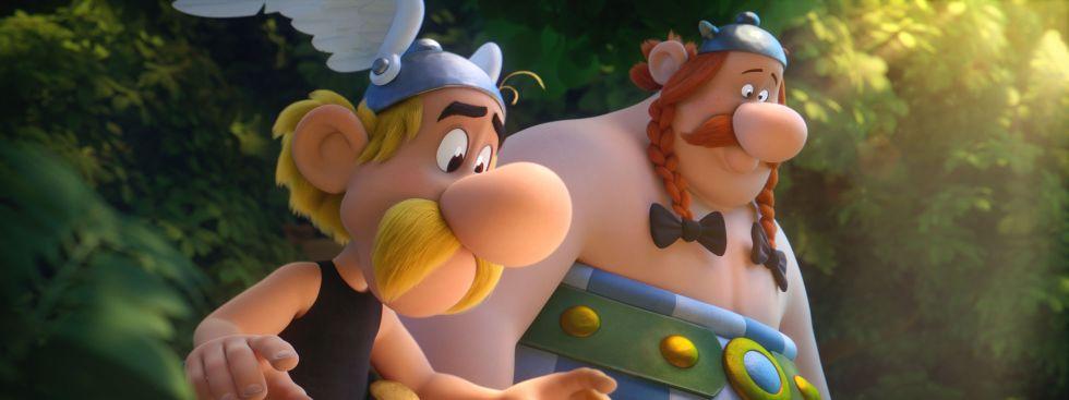 """Szene aus dem Film """"Asterix und das Geheimnis des Zaubertranks"""""""