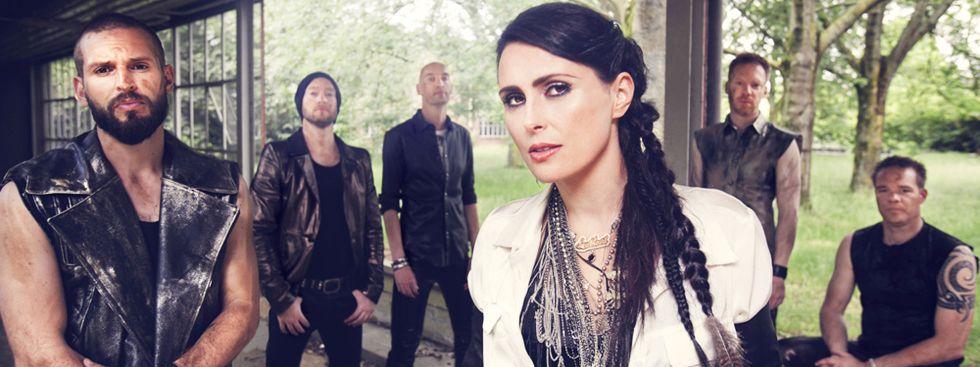 Die Rockband Within Temptation