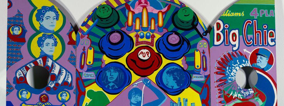 Dieu de Guerre - Acryl auf Pressspanplatte