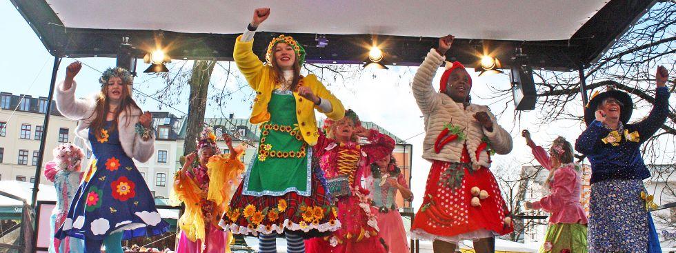 Tanz der Marktfrauen