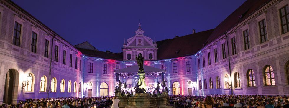 Münchner Open Air Sommer in der Residenz