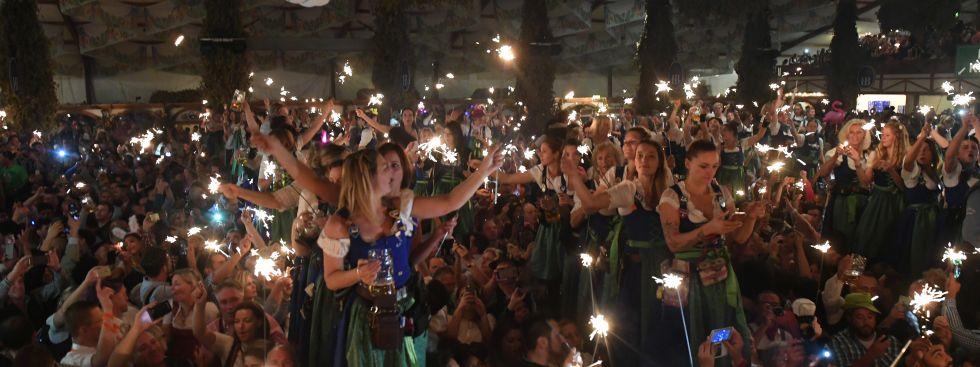 Wiesn-Finale 2018 im Hofbräu Festzelt