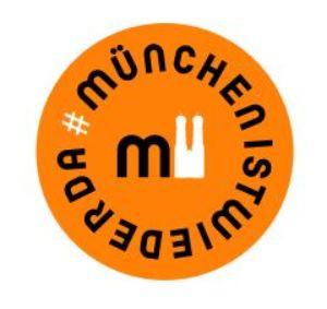 Grafik zur Aktion #münchenistwiederda, Foto: TIM