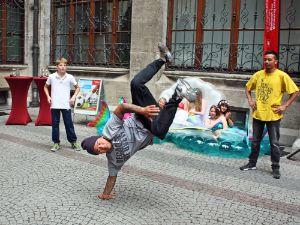 Vorstellung des M-net Münchner Sportfestivals: Breakdance, Foto: muenchen.de/Leonie Liebich