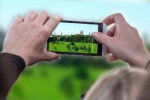 Bild von der App für den Fotowettbewerb auf muenchen.de