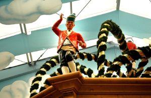 Das Hacker Festzelt auf dem Münchner Oktoberfest, Foto: Leonie Liebich