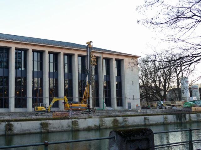Bauarbeiten am Deutschen Museum, Foto: Melina Pfeffer / muenchen.de