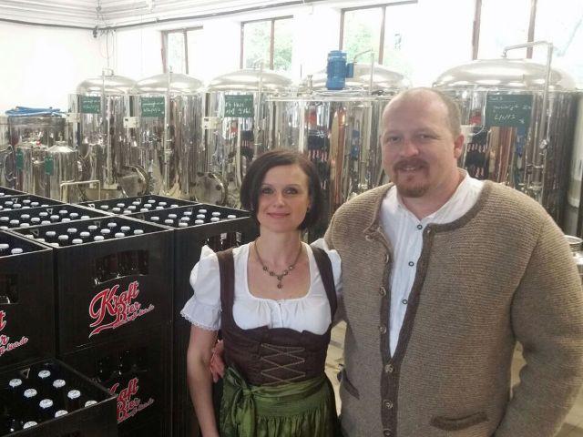 Marta und Thomas Girg von Kraftbier, Foto: Münchner Kraftbräu GmbH