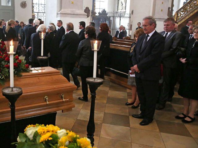 Impressionen von der Trauerfeier für Georg Kronawitter., Foto: Michael Nagy/Presseamt München