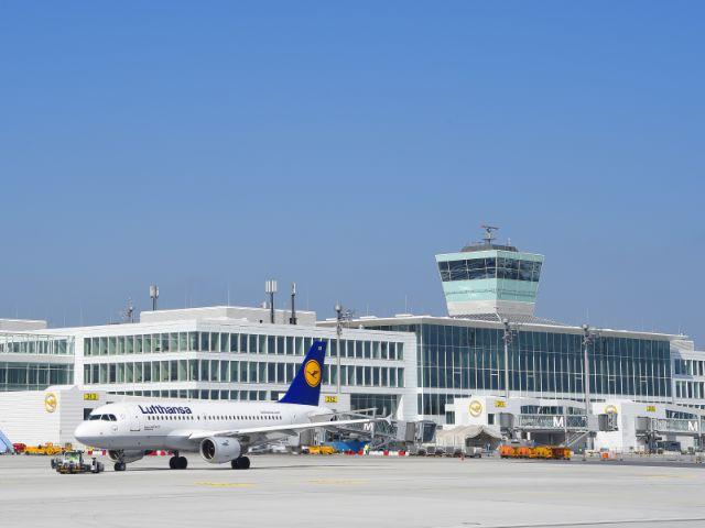 Satellitenterminal Flughafen München, Foto: Flughafen München / Alex Tino Friedel