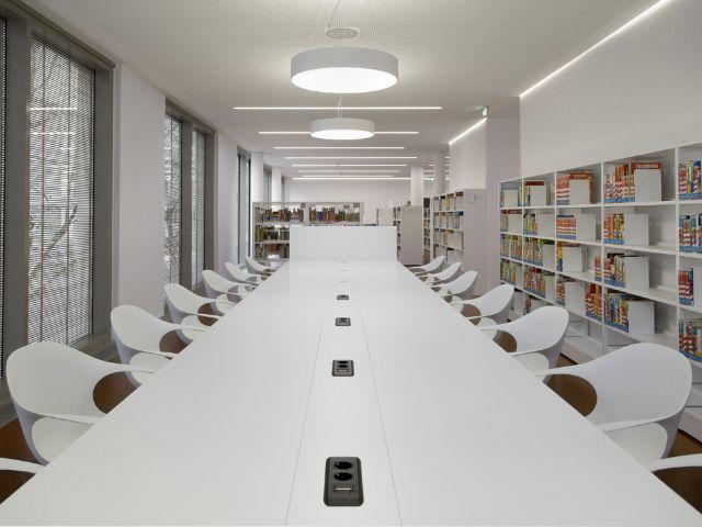 Die Stadtbibliothek Giesing., Foto: Münchner Stadtbibliothek / Eva Jünger