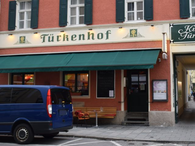 Der Türkenhof in der Maxvorstadt, Foto: muenchen.de/Mark Read