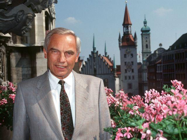 Georg Kronawitter , Foto: Ursula Düren/dpa-Bildarchiv