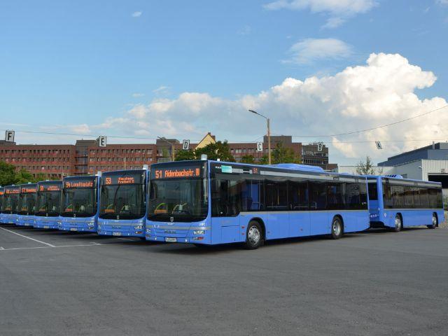 Buszüge der MVG, Foto: SWM/MVG, W. Wellige