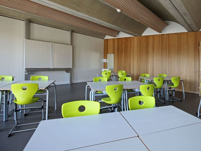 Presserundgang zur neuen Grundschule in Freiham, Foto: Referat für Bildung und Sport München
