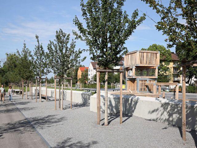 Heckenstallerpark, Foto: Michael Nagy/Presseamt München