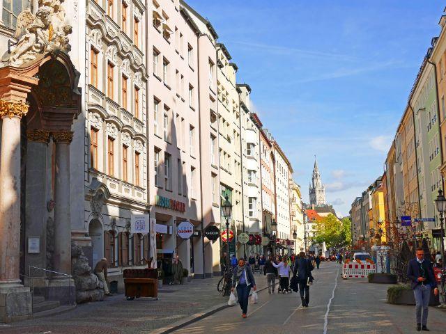 Sendlingerstraße wird zur Fußgängerzone, Foto: muenchen.de/Leonie Liebich