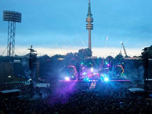 Coldplay im Olympiastadion München