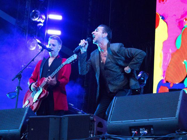 Depeche Mode am 9.6.2017 im Olympiastadion München, Foto: Rico Güttich