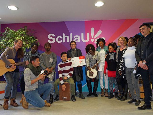 Stadtschulrätin Beatrix Zurek verleiht den Münchner Schulpreis an die SchlaU-Schule, Foto: muenchen.de/Dan Vauelle