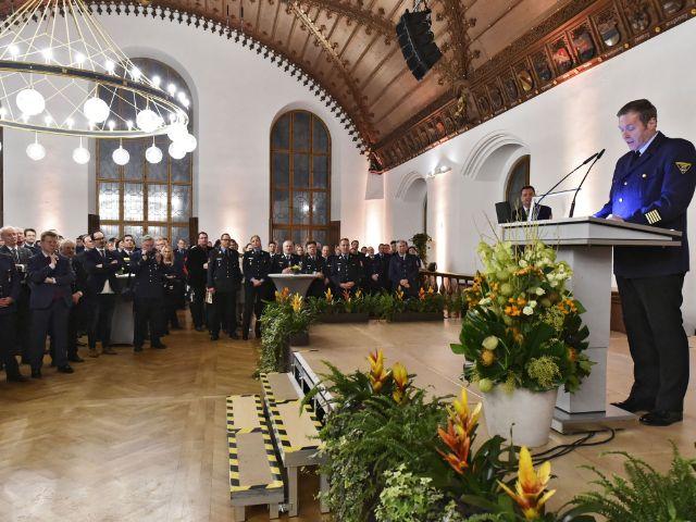 Impressionen vom Neujahrsempfang des Stadtfeuerwehrverbandes., Foto: Berufsfeuerwehr München