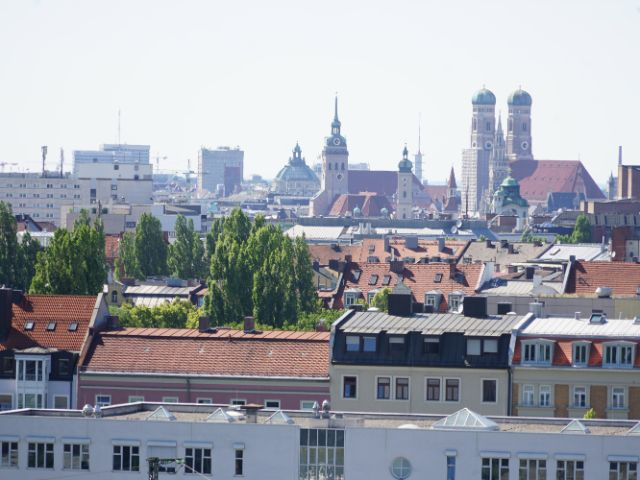 Aussicht von der Lit Roof Dachterrasse, Foto: muenchen.de / Dan Vauelle