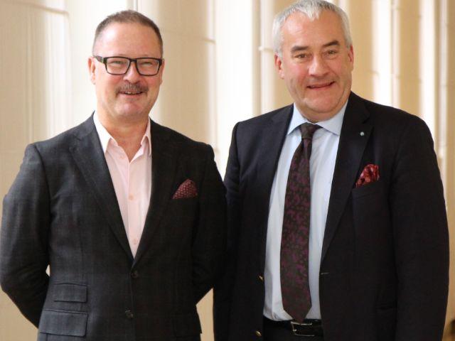 Andreas Beck und Ludwig Spaenle, Foto: Bayerisches Staatsministerium für Bildung und Kultus