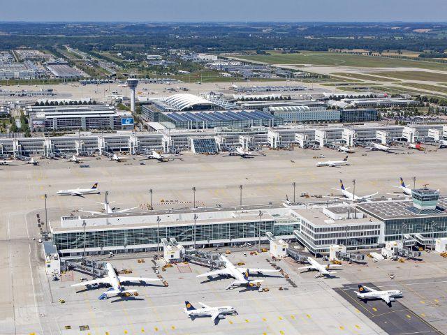 Der Flughafen München, Foto: Flughafen München GmbH