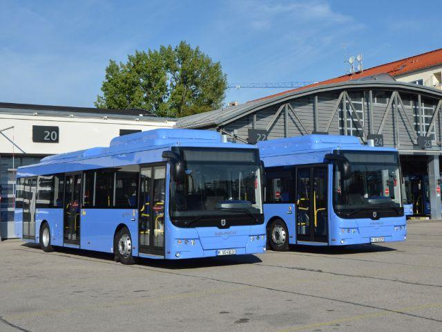 Die neuen Elektobusse für München, Foto: SWM/MVG, Wolfgang Wellige