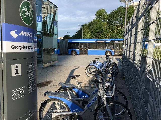 MVG Radstation Georg-Brauchle-Ring, Foto: SWM/MVG