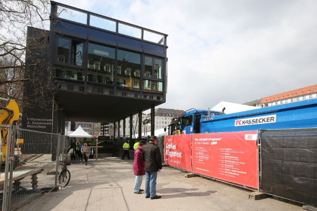 Impressionen vom offiziellen Baubeginn für die 2. Stammstrecke, Foto: Michael Nagy/Presseamt München